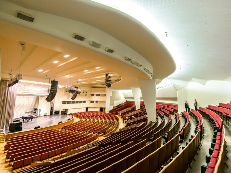 Kulttuuritalon konserttisali
